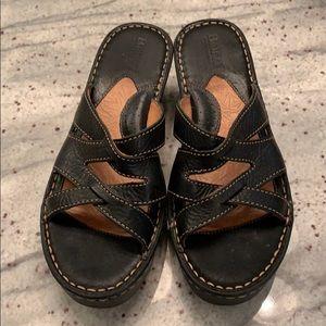 Born size 8 sandal wedge
